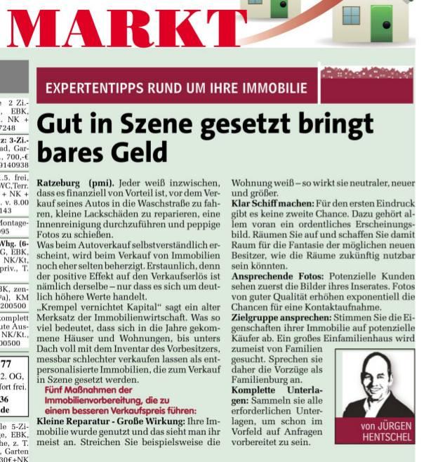 Expertentipp im Markt: In Szene gesetzt!