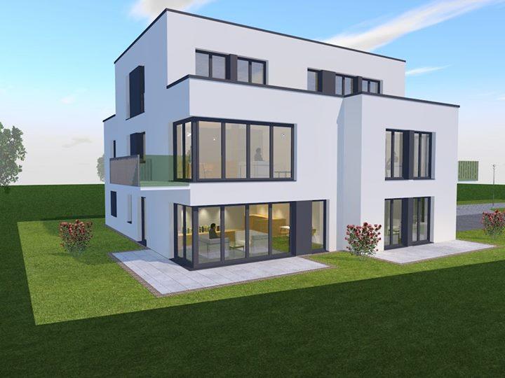 Verkaufsstart! Demnächst startet die Vermarktung von 5 Neubauwohnungen, gebaut in KFW 55 Standard und…