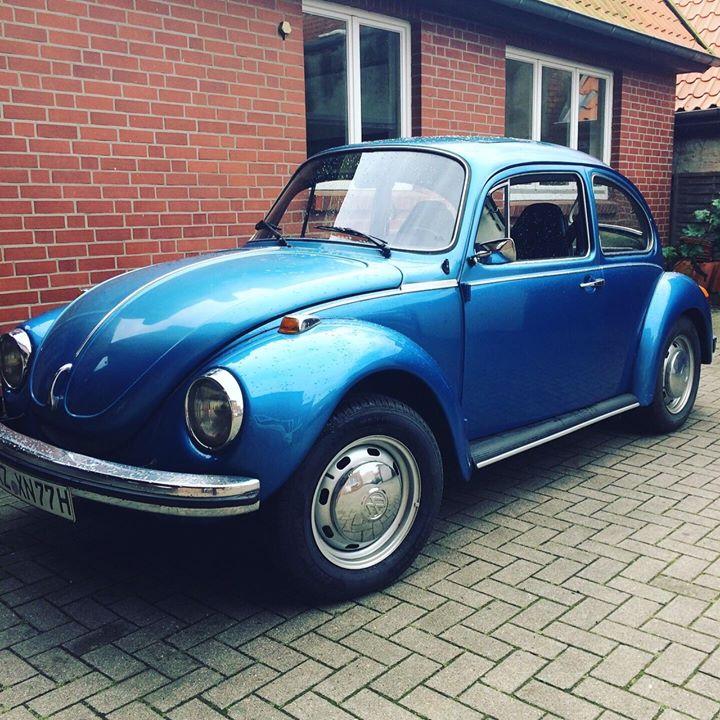 """Der """"neue"""" Firmenwagen ist nun startklar! Für Kenner: VW Käfer 1303LS Limousine Bj. 73"""