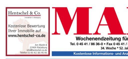Der Markt Verlag und Hentschel & Co. Immobilien. Wir verbinden klassische Zeitungswerbung mit Online-Wertermittlung.…
