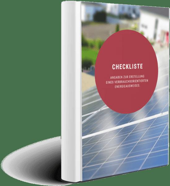 Checkliste: Erstellung Energieausweises