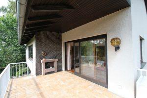Immobilienmakler aus Ratzeburg: Balkon vorher
